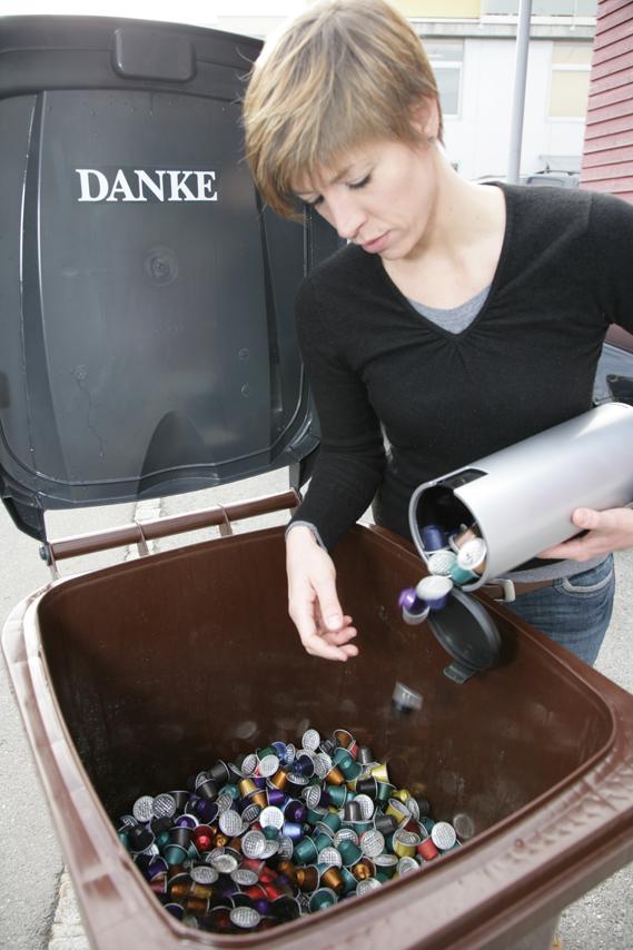 T l chargements capsules nespresso collecte de l 39 alu igora - Point collecte capsule nespresso ...