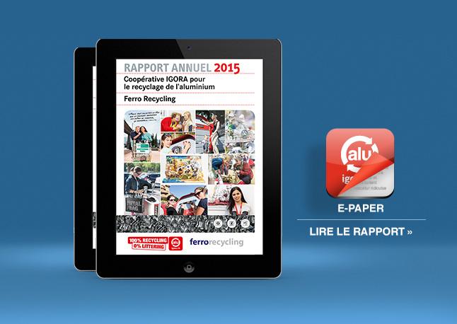 Igora Rapport annuel 2015